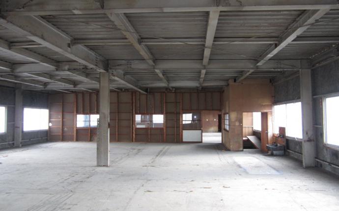 施工前の建物内部