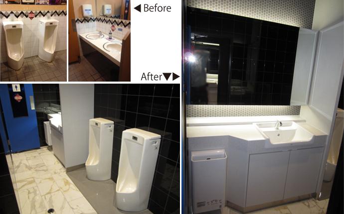 トイレ・洗面もイメージ一新させました。