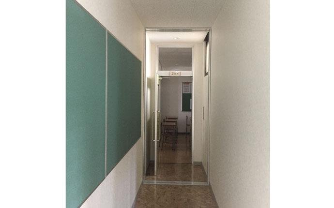 復旧完了後:廊下の様子