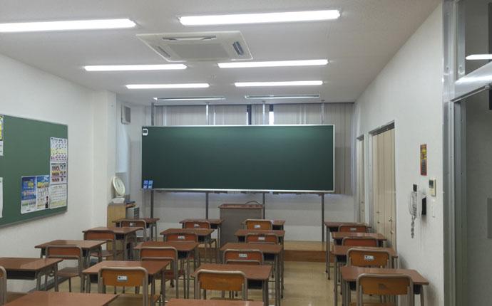 復旧完了後:教室の様子
