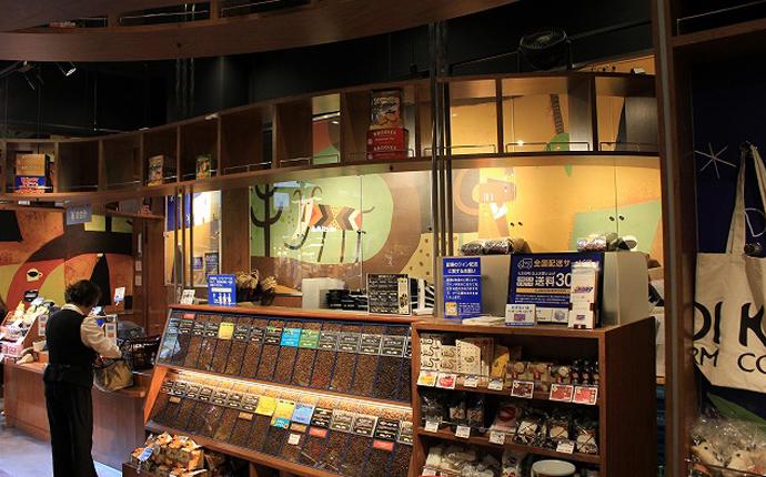 店内の様子4:コーヒーエリア