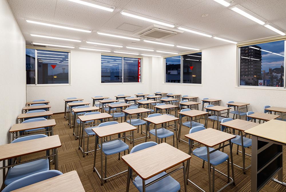 生徒さんたちが集中できる環境を常に考えて設計しています。